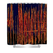 On The Way To Tractor Supply 3 26 Shower Curtain