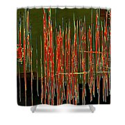 On The Way To Tractor Supply 3 27 Shower Curtain