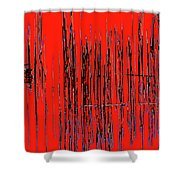 On The Way To Tractor Supply 3 29 Shower Curtain