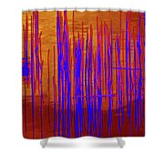 On The Way To Tractor Supply 3 3 Shower Curtain