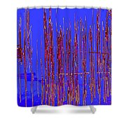 On The Way To Tractor Supply 3 31 Shower Curtain