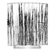 On The Way To Tractor Supply 3 32 Shower Curtain
