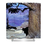 On The West Rim Of The Grand Canyon Shower Curtain