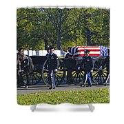On Their Way To Rest Shower Curtain