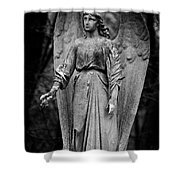 To The Heavenly Garden Shower Curtain