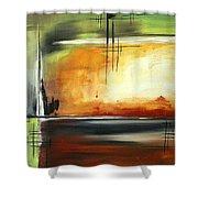 On Track Original Madart Painting Shower Curtain