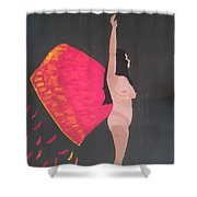 On Wings Of Creation Shower Curtain