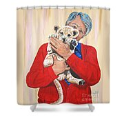 Once In A Lifetime Love Shower Curtain