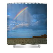 Once In A  Lullaby Shower Curtain