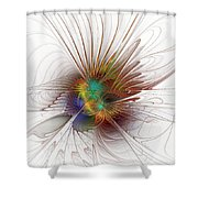 Once It Flew... Shower Curtain