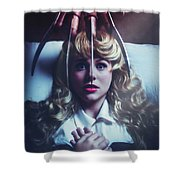 Once Upon A Nightmare Shower Curtain