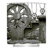 Once Upon A Stairway Shower Curtain