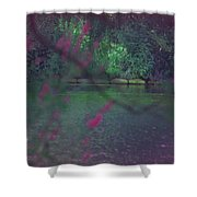 Once Upon A Summer Shower Curtain