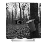 Once Upon A Time At The Sugar Shack Shower Curtain