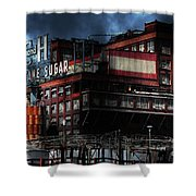 Once Upon A Time In The Sleepy Town Of Crockett California . 5d16760 Shower Curtain
