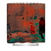 Once Upon A Time In The West Shower Curtain