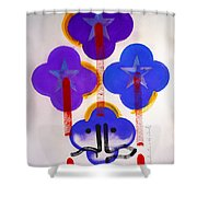Once Upon-a-time In The Woods Shower Curtain