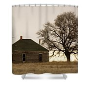 Once Upon A Time In West Texas Shower Curtain