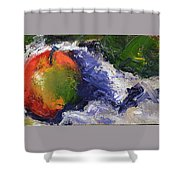 One Apple Shower Curtain