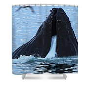 One Big Gulp Shower Curtain