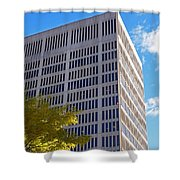 One Broadway Cambridge Ma Kendall Square Shower Curtain