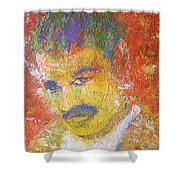 One Character Or An  Idea Shower Curtain