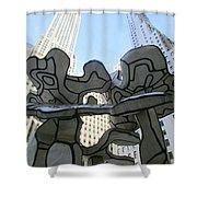 One Chase Manhattan Plaza 3 Shower Curtain