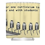 One Curriculum Shower Curtain