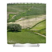 Parko Nazionale Dei Monti Sibillini, Italy 8 Shower Curtain