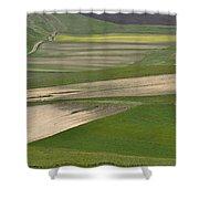 Parko Nazionale Dei Monti Sibillini, Italy 9 Shower Curtain