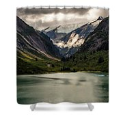 One Day In The Alaskan Wilderness Shower Curtain