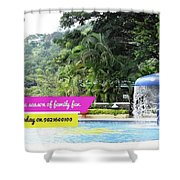 One Day Picnic Spot In Pune For Rainy Season Splendour Country Shower Curtain