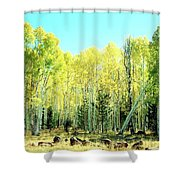 One Drunk Tree Shower Curtain