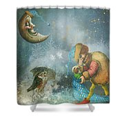 One Enchanting Evening Shower Curtain