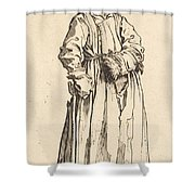 One-eyed Woman Shower Curtain