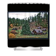 One Fall Day Shower Curtain