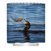 One Final Glance Shower Curtain
