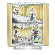 One Fine Tuesday Last June Shower Curtain
