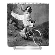 One For The Road, C1900 Shower Curtain