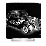 One Hot 1936 Chevrolet Coupe Shower Curtain