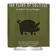 One Hundred Years Of Solitude Greatest Books Ever Series 012 Shower Curtain