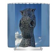 One Kelpie Shower Curtain