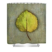 One Leaf Beauty Shower Curtain