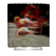 One Long Moment Shower Curtain
