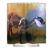 One Of God's Creatures Shower Curtain