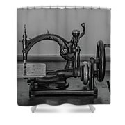 One Of The First Sewing Machines Shower Curtain