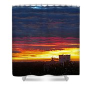 One Of The Prettiest Sunrises Shower Curtain