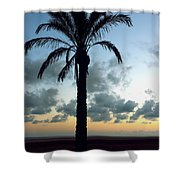 One Palm Shower Curtain