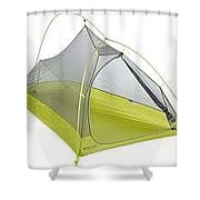 One Person Tent Review Shower Curtain