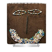 One Pill Makes You...go Ask Alice Shower Curtain